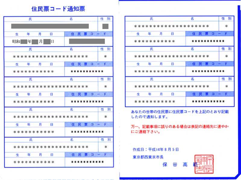 住民 票 コード